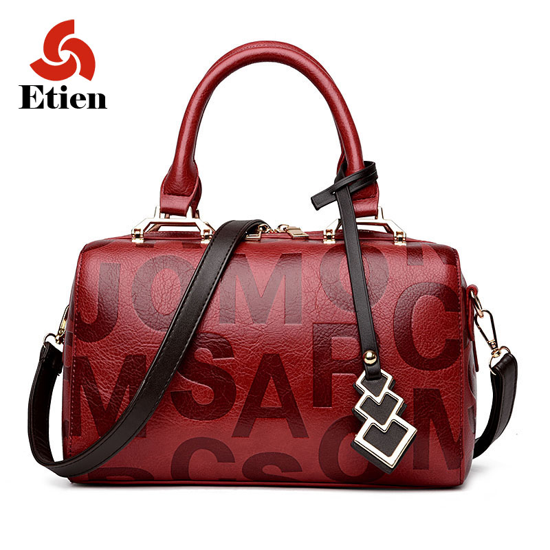 Women Shoulder bags leather  women tote bags female luxury messenger handbags la