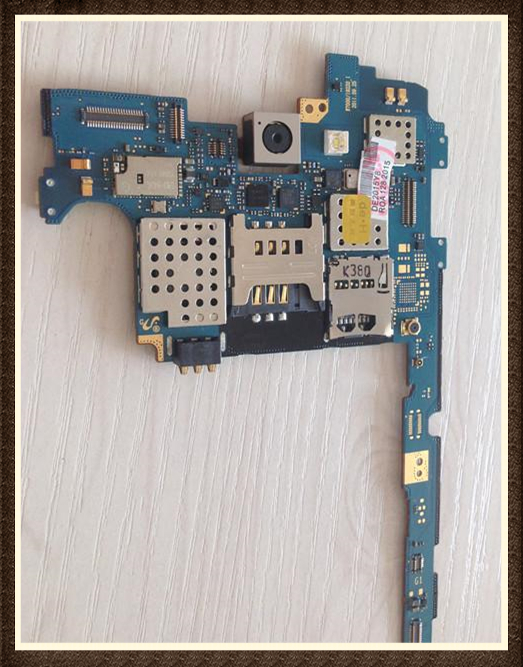 100%Working~Unlock Good quality Original Motherboard For Galaxy note I9220/ n7000 Clean IMEI Free Shipping