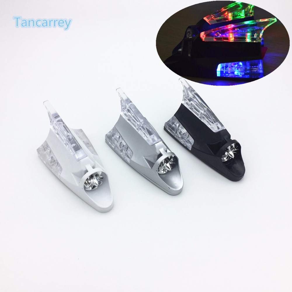 2017 new car styling led shark fin accessories for suzuki vitara renault clio honda crv kadjar