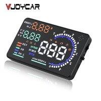 OBD2 HUD Car Head Up Display 5.5 LED Windscreen Projector OBD Scanner Speed Fuel Warning Alarm Data Diagnostic Tool