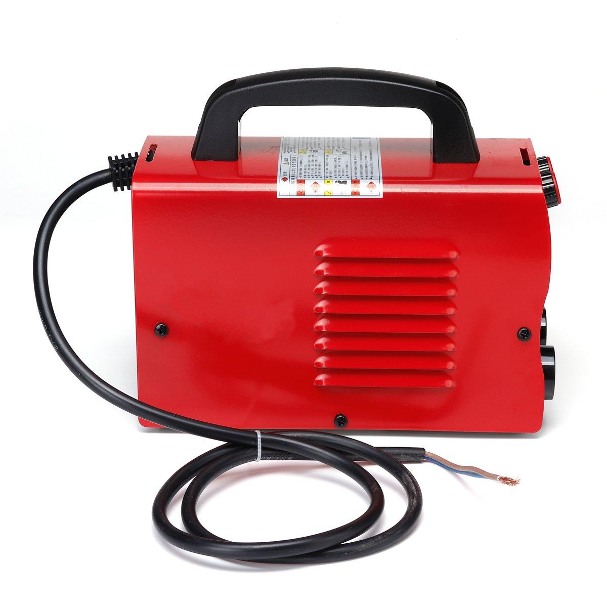 220V 6KW/9.5KW schweißer ZX7-250 10-250A Mini Arc Kraft Elektrische Schweißen Maschine LCD Digital Display MMA IGBT Inverter schweißer