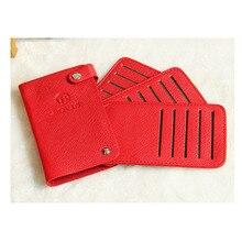 Fashion Credit Card Holder Purse Female Biusiness Card Holder PU Wallet Multi-function card Bag Women Men Wallet Holder for Card