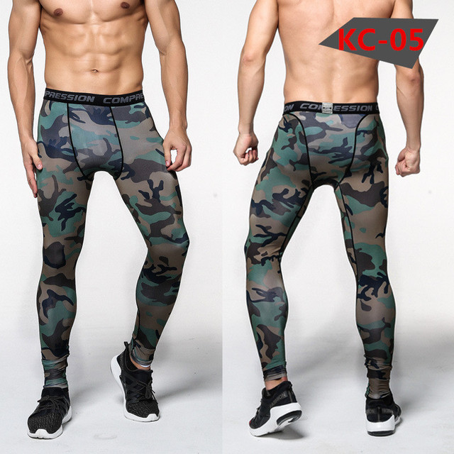 Bodybuilding Man Trousers Camouflage Army Fitness  1