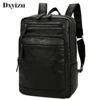 2019 Sheepskin Business Shoulder Bag Male Travel Backpack Laptop School Bag High Quality Men's Daypacks For Teenager Boys