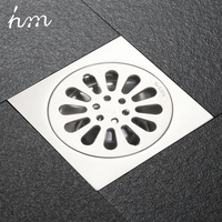 Drains Floor Drain Linear Shower Floor Drains Bathroom Shower Drain Cover Stainless Steel SUS304 Kitchen Filter Strainer Drainer