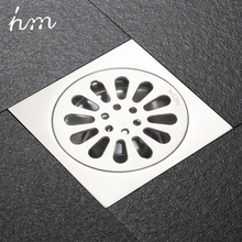 hm Floor Drain Linear Shower Floor Drains Bathroom Shower Drain Cover Stainless Steel SUS304 Kitchen Filter Strainer Drainer цена 2017