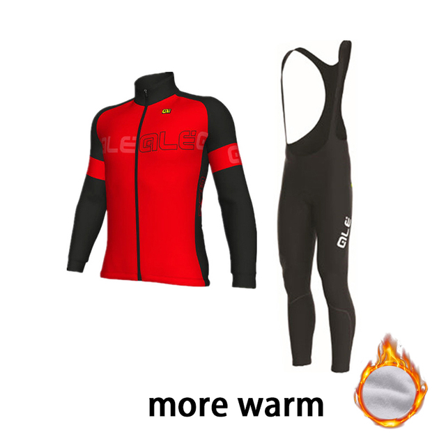 Women Winter Cycling Clothing Thermal Fleece 2018 Pro Team Cycling Jersey  Set Ropa Cilcimso Hombre Invierno 4f9fa68a9