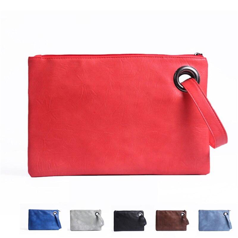 Harrms Brand New Handbag Fashion Women Bag Leather Casual Women Clutch Female Clutches Handbag Purses Leather High Quality Bag