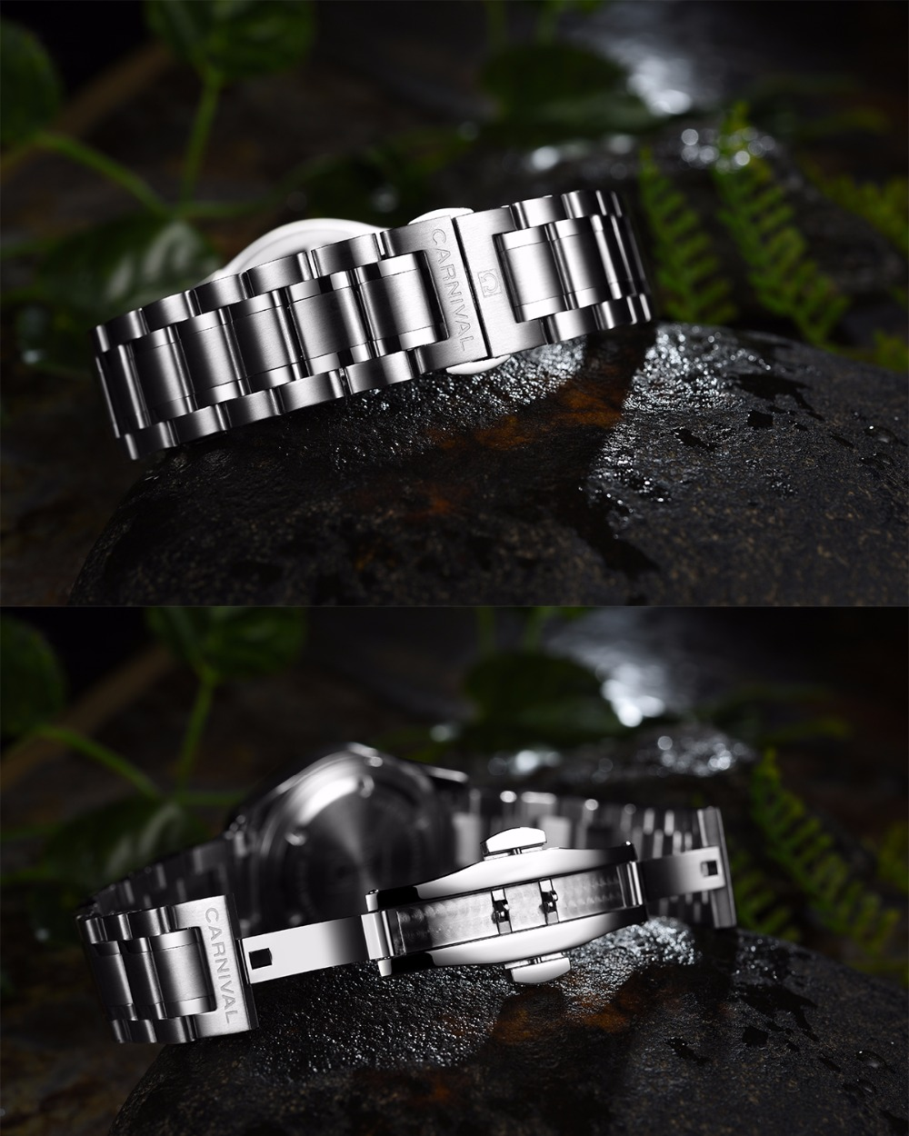 Carnaval trítio t25 luminoso duplo calendário militar suíça relógio de quartzo masculino marca luxo relógios à prova dwaterproof água 2017 - 4