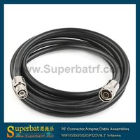 RF Coaxial Pigtail N Male To TNC Male Pigtail Cable LMR400 5M