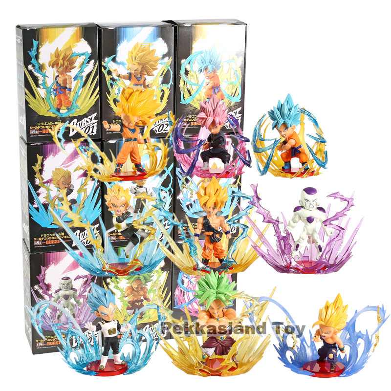 9pcs Dragon Ball Super WCF Burst World Collectable Vegeta Gohan Frieza Broly Son Goku Gokou Saiyan 3 Hero Figure Model Toys9pcs Dragon Ball Super WCF Burst World Collectable Vegeta Gohan Frieza Broly Son Goku Gokou Saiyan 3 Hero Figure Model Toys