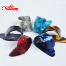 Alice Brand Pick 3 Per Package Random Thickness Color Prevent Pain Quality Celluloid Thickness 1.50mm Thumb Picks AP-100N