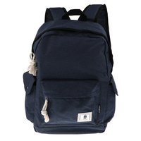 Fashion Backpack with USB Charging Port School Bag for Laptop Notebook Blue
