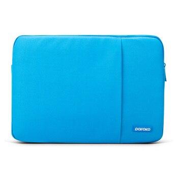 POFOKO 11.613.314 15.617.3インチ男性女性ラップトップスリーブバッグfor Macbook Air Pro Retina 11 12 13 14 15 17保護ケースのラップトップバッグ