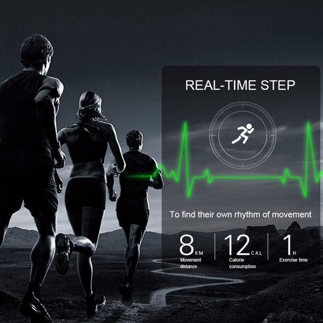 Men's 3G WIFI Heart Rate Monitor Pedometer Smart Sports Watch