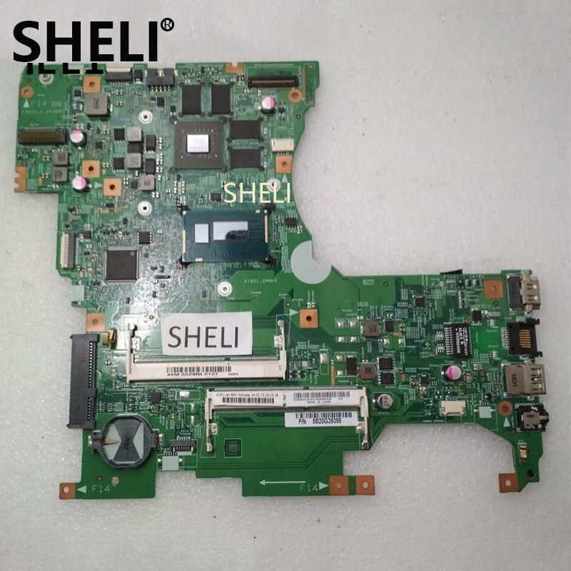 SHELI For Lenovo Flex 2 15 Motherboard with I7 4510U 448 00Z04 0011 5B20G39457