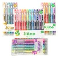 Japan PILOT Juice 1 Set 6 12 Colors Roller Ball Point Gel Ink Pen Water Based