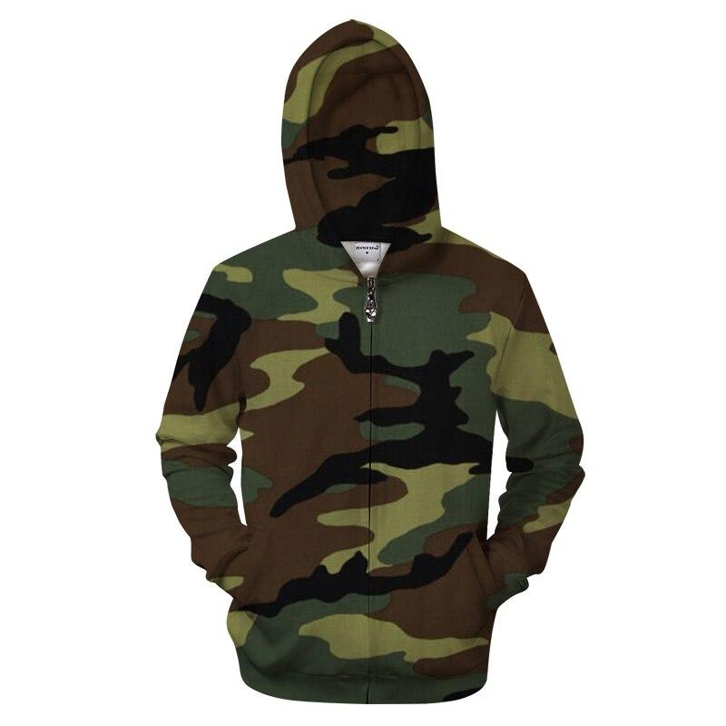 Shine Camo 3D Zipper Hoodies Men Zip Sweatshirt Casual Tracksuit Groot Hoody Pullover Coat Streatwear Autumn Dropship