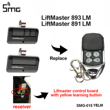 1Pcs LiftMaster 891LM 893LM electric garage door remote control Security+ 2.0 myQ 953ESTD LiftMaster 891 garage command