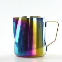 600ML Stainless Steel Coffee Pitcher Milk Mug Cuppuccino Coffee Percolators