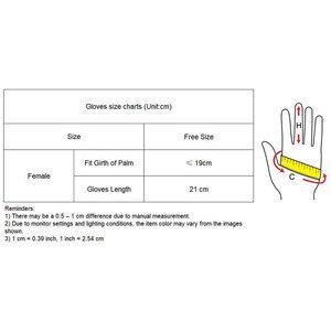 Image 5 - 21cm Suede Short Gloves Short Section Emulation Leather Brushed Suede Matte Light Blue Female Gloves Free Shipping WJP10 21