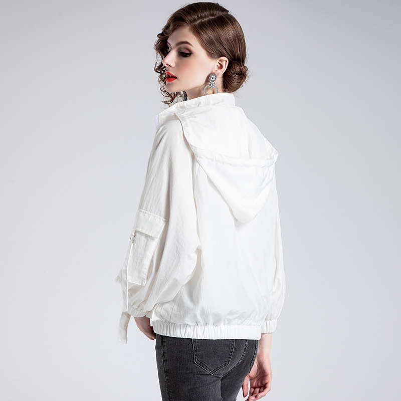 Nouvelle Et Robe Printemps Cheveux jaune Casaco Feminino F905036 2018 Plage 2019 substitut Manteau Crème Un Blanc De Solaire D'été Femmes Cardigan vOP8qqwIA