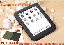 BOYUE T62 + cubierta de doble núcleo 8G eink Ereader táctil pantalla pera 2800 mAh Android WIFI ebook libro electrónico de ventas del envío libre