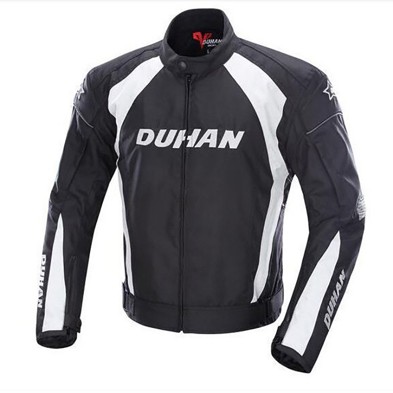 Duhan MOTO JACKET D089 motorcycle jacket men 5 Protective Gears capacete motocross full body armor protection jackets herobiker black motorcycle racing body armor protective jacket gears short pants motorcycle knee protector moto gloves