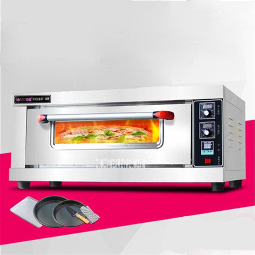 60L grand four électrique nouveau numérique contrôle de température cuisson four LC-ACL-10 Commercial four gâteau pain Pizza four 220 V 3200 W