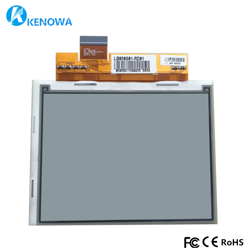 Original New LB050S01-RD01 LB050S01 5 E-ink Display for E-bookOriginal New LB050S01-RD01 LB050S01 5 E-ink Display for E-book
