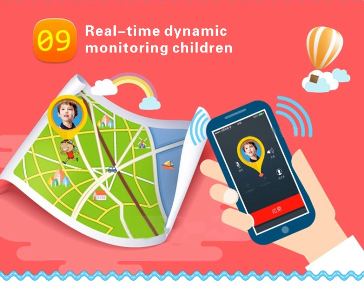 MOCRUX Kids Watches Q50 SOS Call GSM GPRS GPS Smart Baby Watch Track Watch Location Tracker Smart Watch for Child Boys Girls (11)