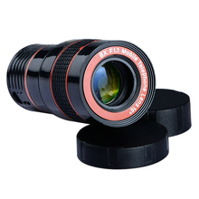 Universal 8x telephoto Zoom Phone Lens Tele Fisheye Wide Macro Camera Lens Kit For iPhone 6 6S Plus 7 Samsung S7 S8 APL-19CX3 (Copy)