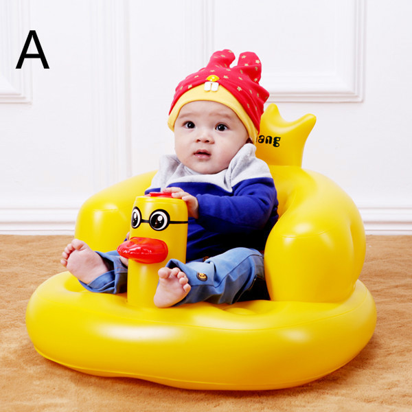 Baby Sofa Child Shower Chair Portable Multi-functional Baby Inflatable Sofa Child Dining Chair Safety Seat  T01 bath seat dining chair baby inflatable kids sofa baby chair portable baby seat chair play game mat sofa kids inflatable stool