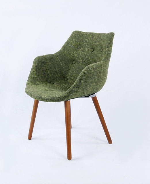 Free Shipping Cafe Fabric Armchair