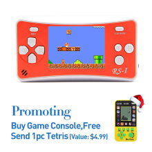 Free Shipping 2.5 Inch Retro Game Handheld Player Built-in 152 Games Support AV Cable TV Output Portable Game Console for gift