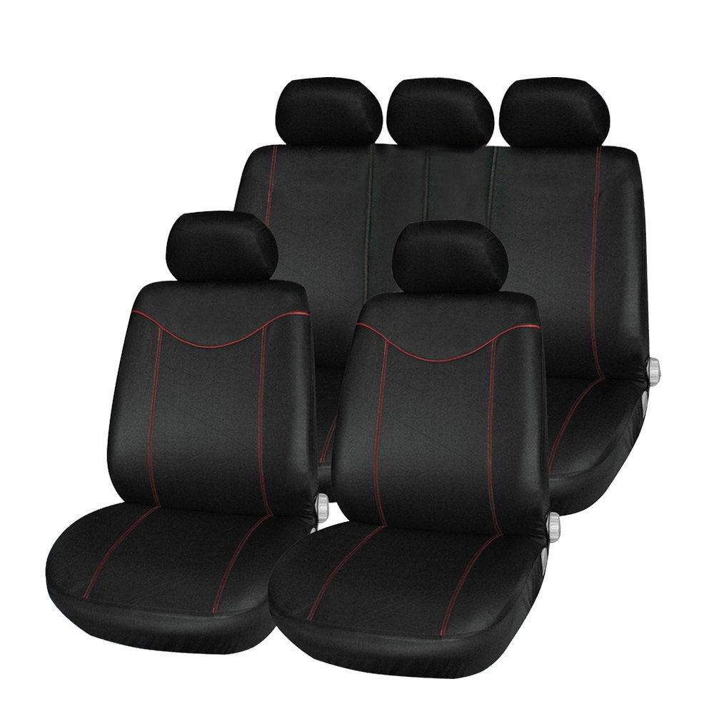 Car-Seat-Cover Universal Optional Protect Front-Back Mesh Black 11pcs Gray 5styles Anti-Dust