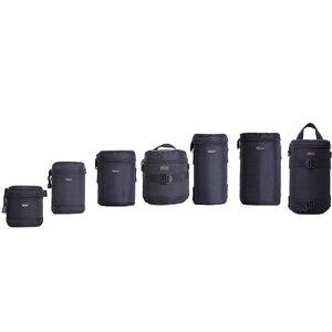 Image 3 - Hızlı kargo yeni Lowepro Lens çantası çantası su geçirmez fotoğraf çantası standart Zoom objektifi siyah