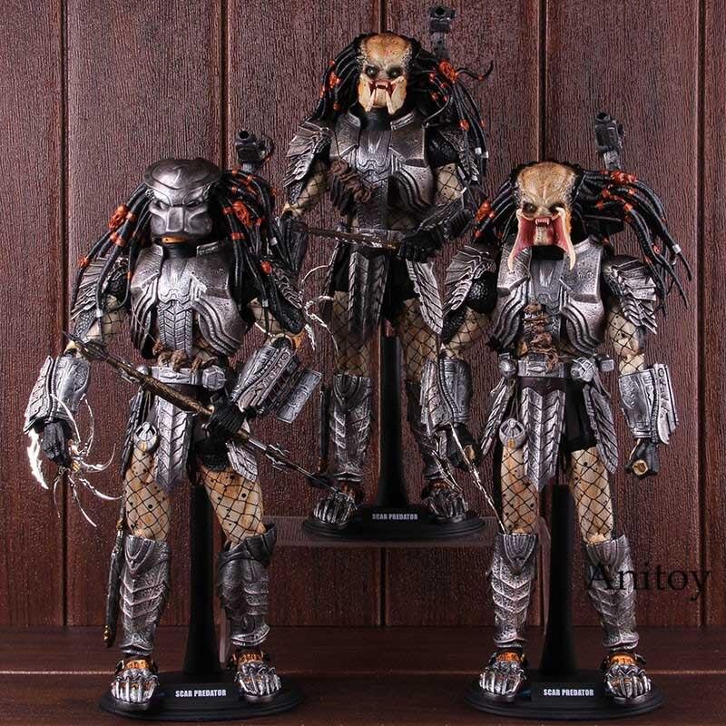 Oyuncaklar ve Hobi Ürünleri'ten Aksiyon ve Oyuncak Figürleri'de Skar Predator Alien MMS 190 1/6th ölçekli Predator Action Figure koleksiyon Model oyuncak'da  Grup 2