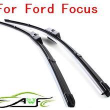 """Автомобильные щетки стеклоочистителя для ford focus II Размер 2""""+ 17"""" мягкий резиновый стеклоочиститель лобового стекла 2 шт./пара, отражающая"""