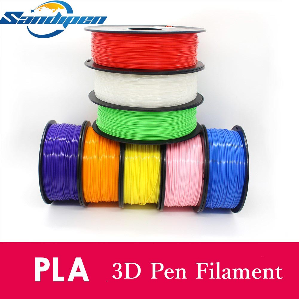 Sandipen PLA filament 1.75mm 1kg high quality pla plastic filament PLA 3d printing high strength 3d printer filament PLA02 scotch high strength filament tape 94 x 60yds 89811 dmi rl