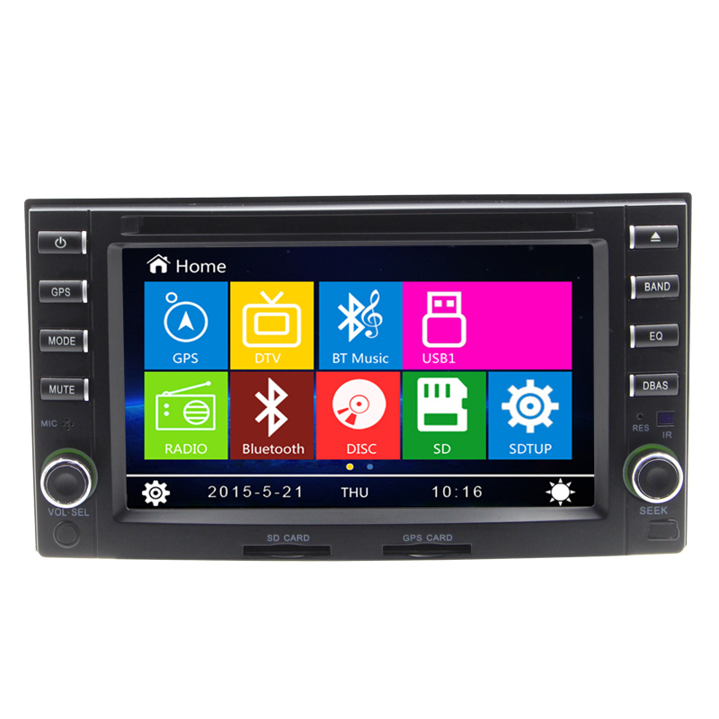 WInce6 0 Car DVD Player GPS Navigation For Kla Cerato Carens With Bluetooth Steerign Wheel Control