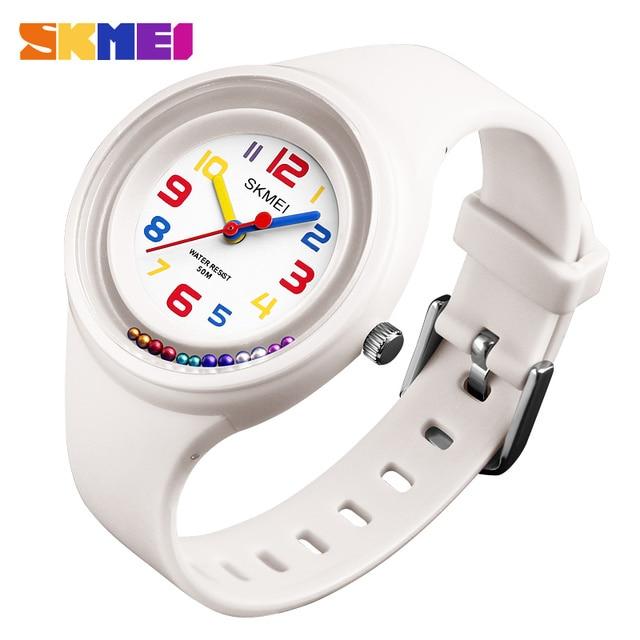 Fashion Waterproof Quartz Children's Watches SKMEI Brand Kids Wristwatches Sport