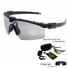 UV400 Eye Protection Shooting Military Sunglasses Hunting Ca