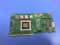 Original Stock FOR ASUS G750JX MXM N14E 60NB00N0 VG1060 211 GTX 770M GDDR5 3GB VIDEO CARD
