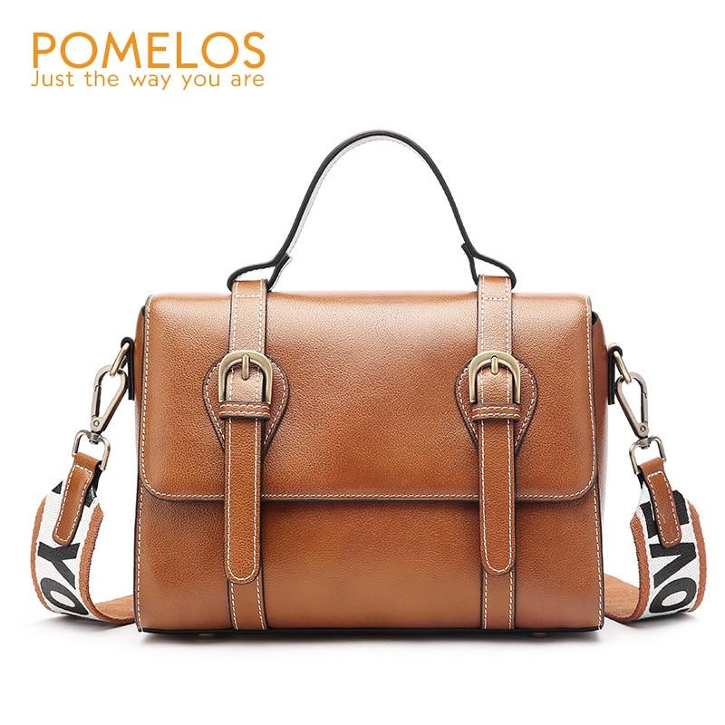 eb7ef0813c POMELOS Fashion Hollow Out Women Leather Handbags Luxury Ladies Bucket Bag  Handbag Set Female Shoulder Crossbody ...
