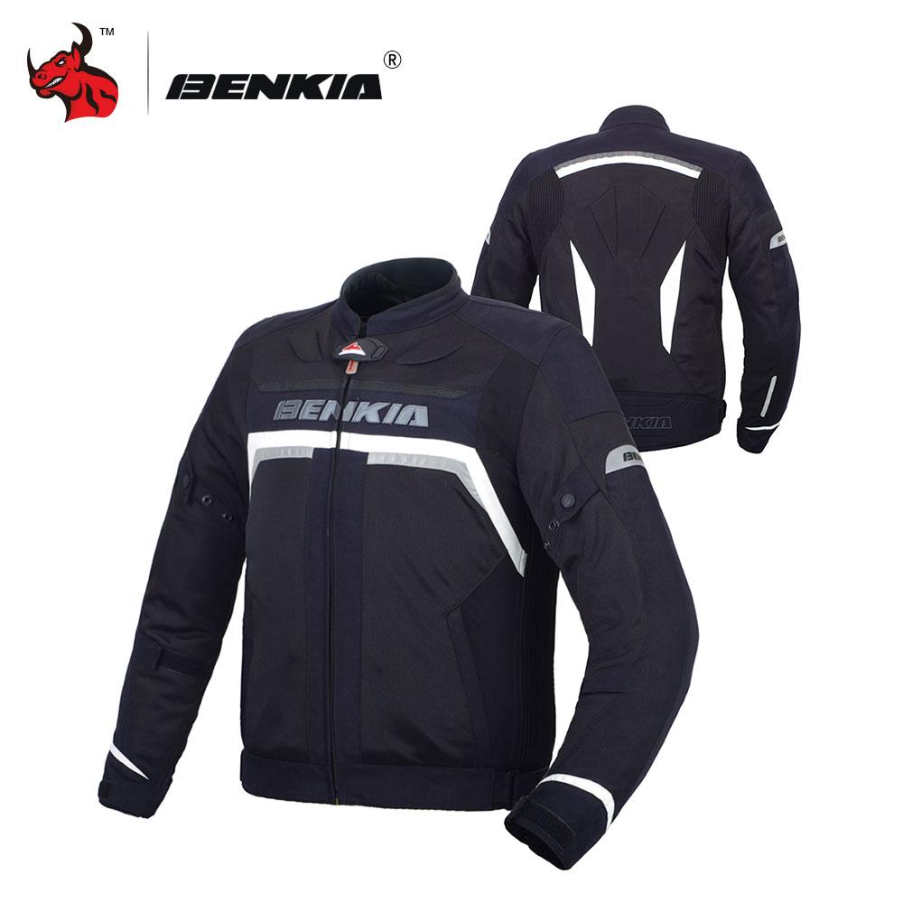 BENKIA Hommes Moto vestes de course de Moto Veste Moto Veste Moto Moto tenue de course Moto veste en maille