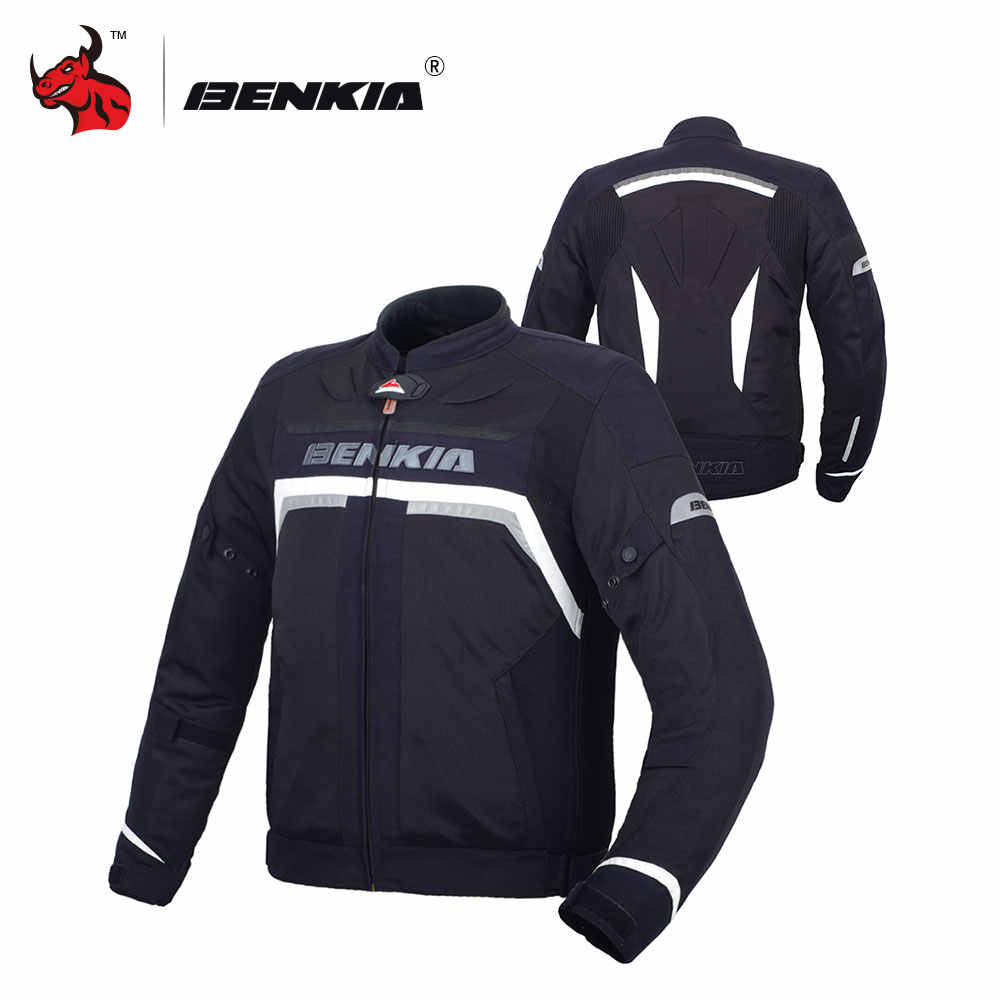 Jacket Moto Jackets Race Suit Benkia Men's Mesh Motorcycle Racing kOTZiuPX