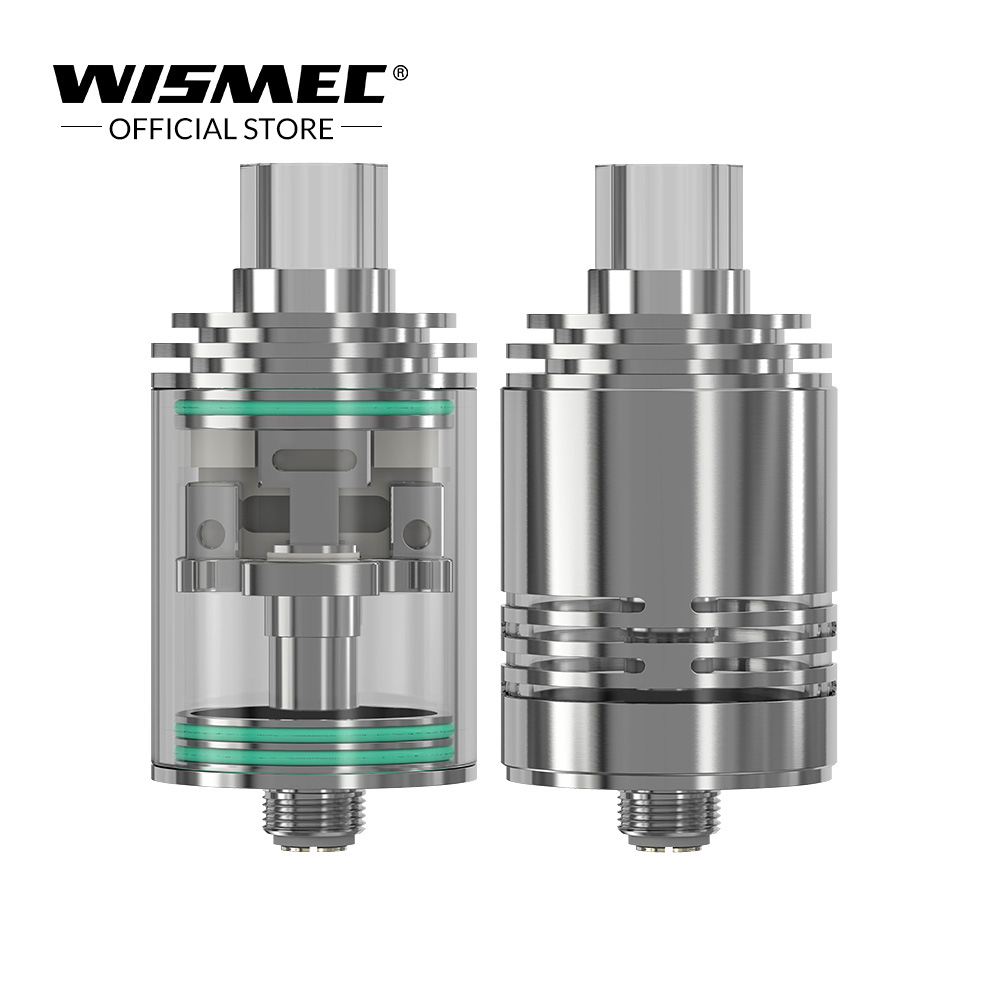 [USA /Russian Warehouse] Original Wismec Theorem Atomizer Stainless Steel NotchCoil Electronic cigarette atomizer tank