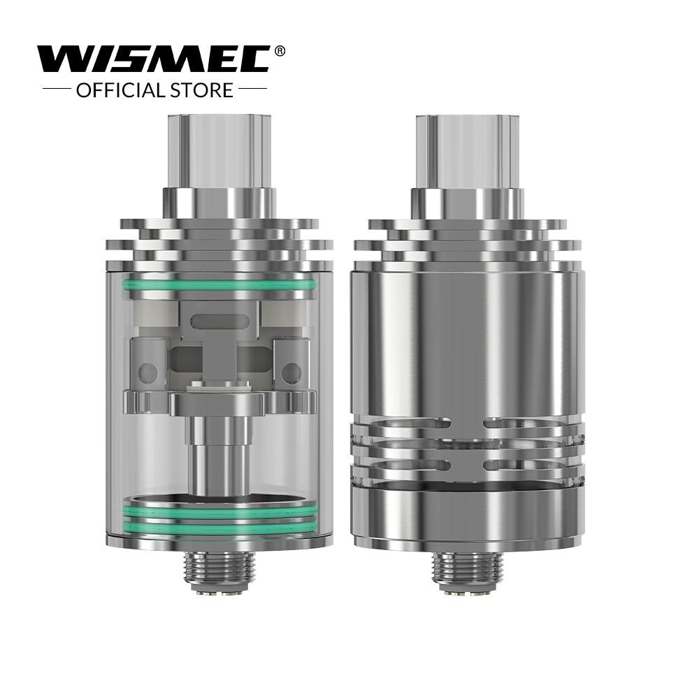 [USA /Russian Warehouse] Original Wismec Theorem Atomizer Stainless Steel NotchCoil Electronic cigarette atomizer tank