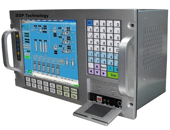 "12.1"" LCD,Touchscreen, P3 1.0GHz CPU, 512 MB RAM,160GB HDD,4xPCI,4xISA,Windows 98/XP OS,Rack Mounting Industrial Workstation"